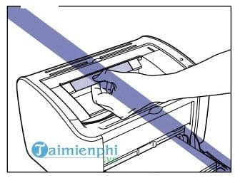 Cách sửa lỗi máy in bị kẹt giấy, lấy giấy bị kẹt an toàn 2