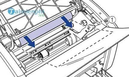 Cách sửa lỗi máy in bị kẹt giấy, lấy giấy bị kẹt an toàn 4