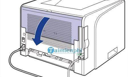 Cách sửa lỗi máy in bị kẹt giấy, lấy giấy bị kẹt an toàn 5