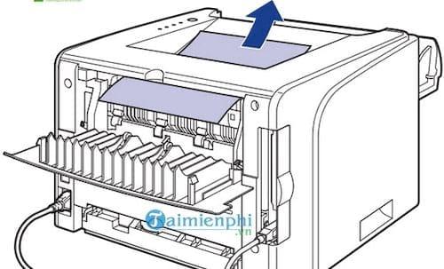 Cách sửa lỗi máy in bị kẹt giấy, lấy giấy bị kẹt an toàn 6