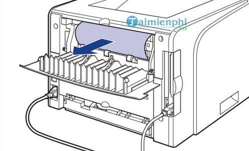 Cách sửa lỗi máy in bị kẹt giấy, lấy giấy bị kẹt an toàn 7