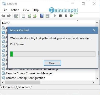 Cách sửa lỗi máy in bị offline, không in được 4