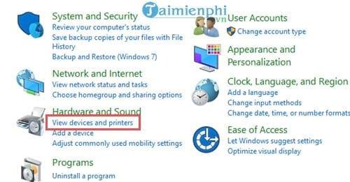 Sửa lỗi máy in không nhận lệnh in trên máy tính 10