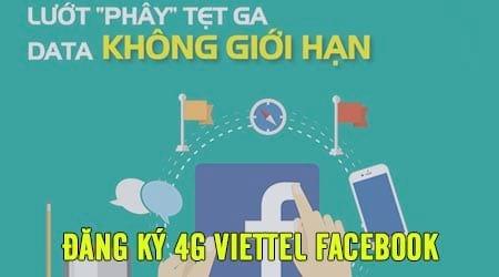 dang ky 4g viettel facebook dung facebook mien phi