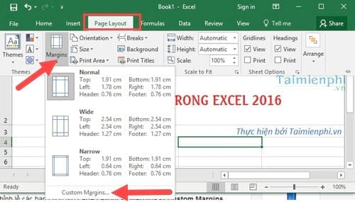 can le excel chuan can chinh le chuan trong excel 2016 2013 2010 2007 2003 5