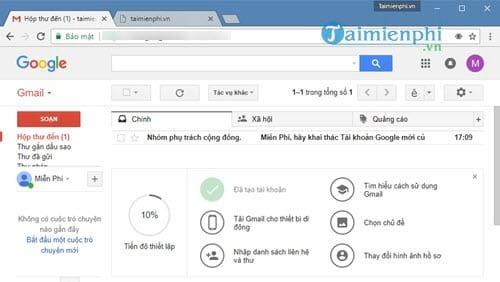 Cách đăng ký Gmail không cần số điện thoại xác minh 11