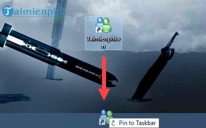 cach ghim thu muc vao taskbar windows ghim folder bat ky 10