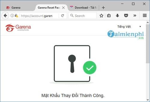 Cách lấy lại mật khẩu Garena bằng Email, Gmail 8