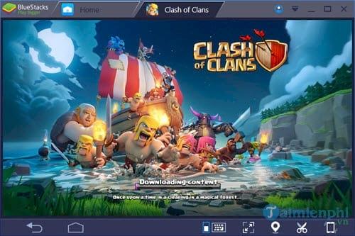 Cách chơi Clash Of Clans trên máy tính bằng Bluestacks 3