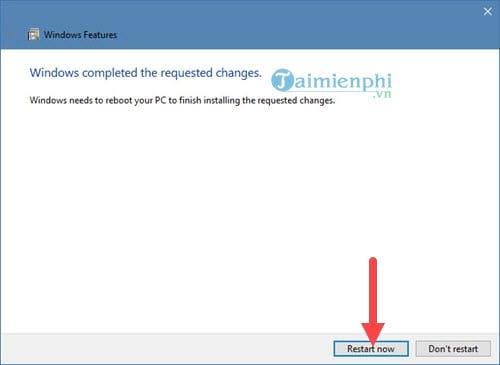 Kích hoạt Hyper-V Manager trên Windows 10 6