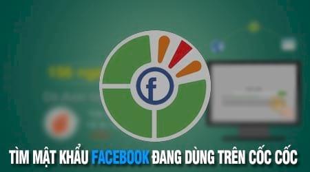 cach tim mat khau facebook dang dung tren coc coc