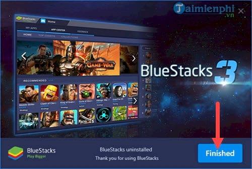 Sửa lỗi khởi động engine thất bại trên BlueStacks 3 5