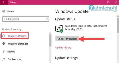 Sửa lỗi không mở được Start Menu Windows 10 2