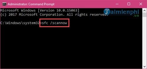 Sửa lỗi không mở được Start Menu Windows 10 8