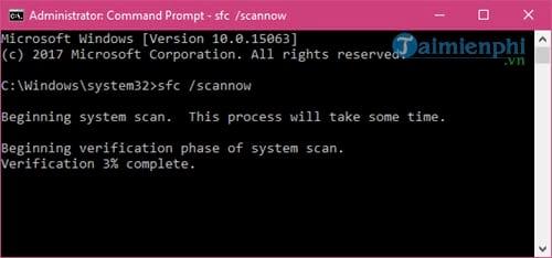 Sửa lỗi không mở được Start Menu Windows 10 9