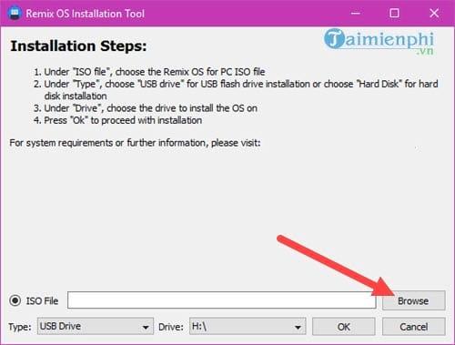 Cách cài Remix OS chạy song song Android với Windows 3