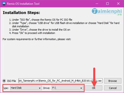 Cách cài Remix OS chạy song song Android với Windows 5