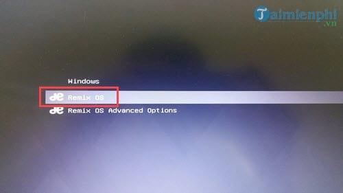 Cách cài Remix OS chạy song song Android với Windows 9