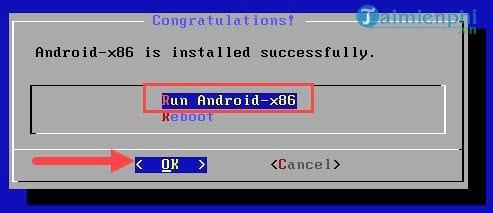 Cách cài Android x86 trên PC 16
