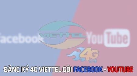 cach dang ky 4g viettel goi youtube facebook 4gyt 4gfb