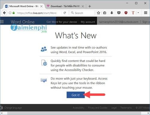 Word Online, cách dùng, soạn thảo, lưu văn bản, xem lại văn bản 4