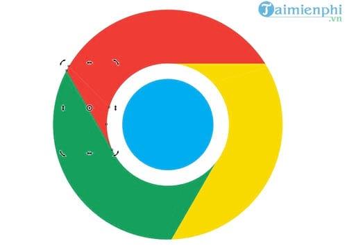 Thiết kế Logo Chrome bằng CorelDraw