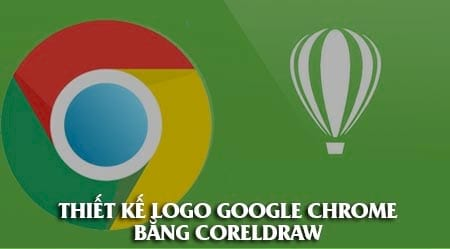 thiet ke logo chrome bang coreldraw