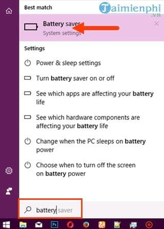 Cách tiết kiệm pin laptop win 10, tăng thời lượng sử dụng pin  2