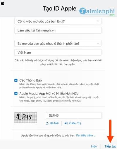 Cách đăng ký iCloud trên Web từ máy tính 3