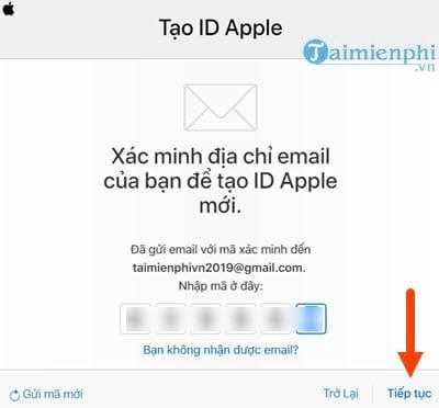 Cách đăng ký iCloud trên Web từ máy tính 5