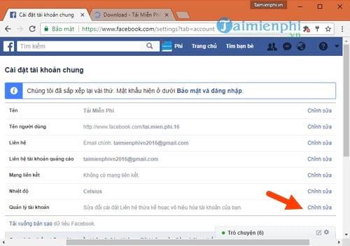 Cách khóa Facebook trên máy tính, block tài khoản facebook 2