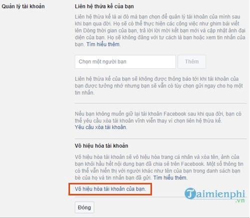 Cách khóa Facebook trên máy tính, block tài khoản facebook 3