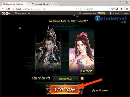 Code Huyết Chiến Tam Quốc, webgame HOT nhất hiện nay