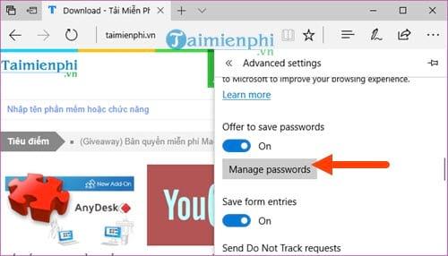Cách xóa lưu mật khẩu Gmail trên các Chrome, Cốc Cốc, Firefox, Opera, Edge