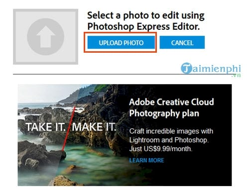 Instructions for using photoshop express editor edit photos online 3