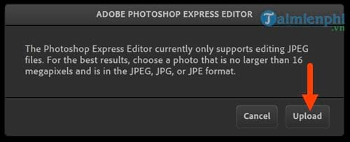 Instructions for using photoshop express editor edit photos online 4