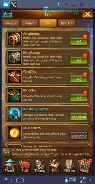 Code Vua Tam Quốc, các nhận giftcode Vua Tam Quốc phiên bản đặc biệt