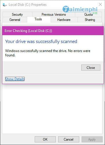 Cách sửa lỗi Has Stopped Working trên máy tính 12