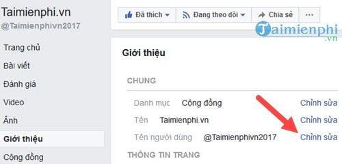 cach rut gon dia chi Fanpage Facebook rut gon link Facebook 4