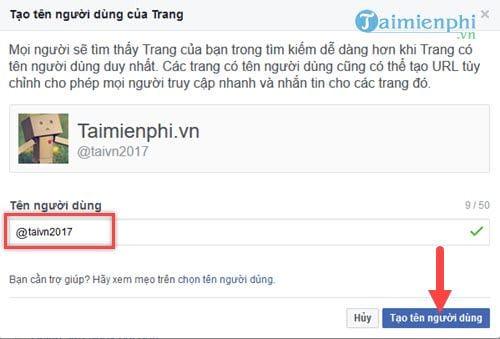 cach rut gon dia chi Fanpage Facebook rut gon link Facebook 5