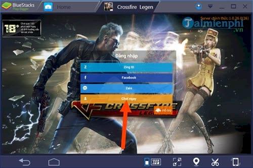 Cách chơi Crossfire Legends, CF Mobile, game Đột kích trên máy tính