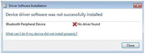 cach sua loi bluetooth peripheral device driver not found tren windows 10 8 7