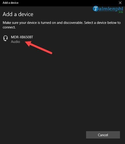 Cách kết nối tai nghe Bluetooth với máy tính 6