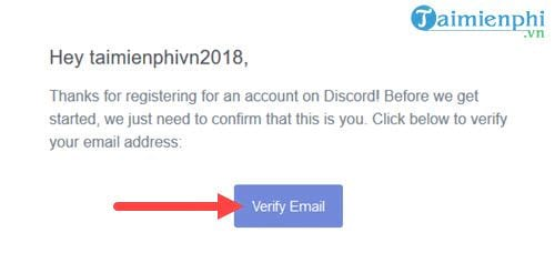 Discord Verification Code