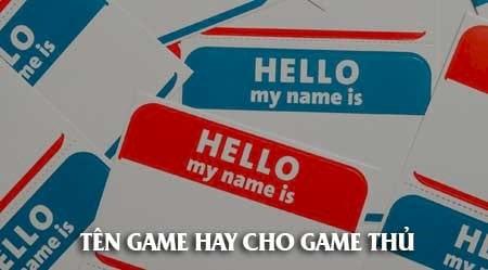 Tên game hay