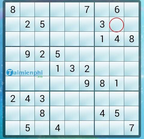 Mẹo chơi Sudoku nhanh, quy tắc giải 3