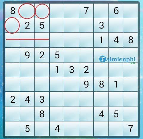 Mẹo chơi Sudoku nhanh, quy tắc giải 4
