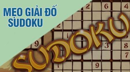 Mẹo chơi Sudoku nhanh, quy tắc giải