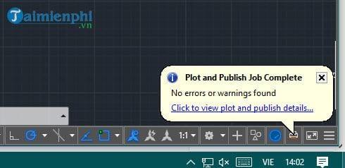 cách chuyển file cad sang pdf