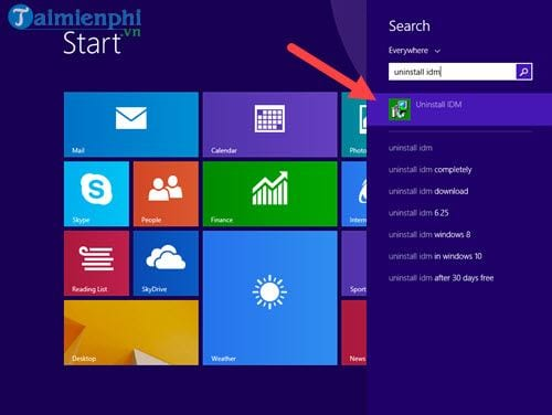 Cách gỡ IDM, Internet Download Manager 11